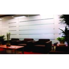 ASLAN EL 300 - Folie aspect geam sablat